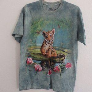 Tie Dye Tiger Cub Tee Sz M